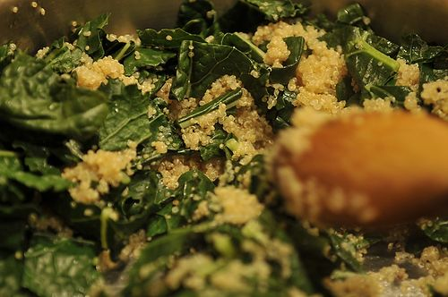 One Pot Kale and Quinoa Pilaf Recipe on Food52