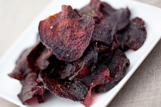 Coriander Beet Chips
