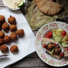 Steel Cut Oat Falafel