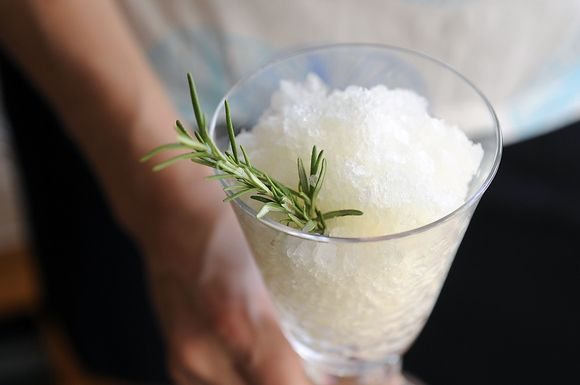 Alcoholic Granita on Food52