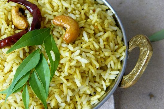 South Indian Curry Leaf Rice