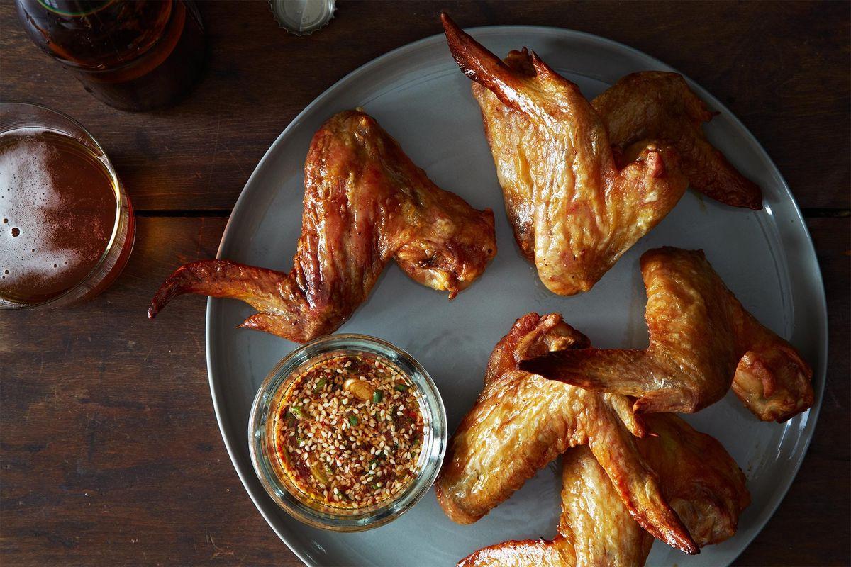 Korean Chicken Wings Genius Recipe Super Bowl Foods