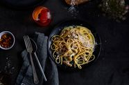 This Smoky, Spicy Pasta is as Close to Carbonara as Vegetarians Will Get