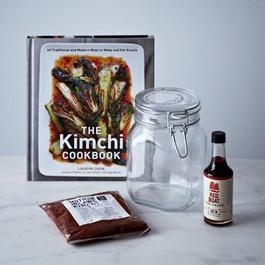 DIY Kimchi Kit with Signed Copy of The Kimchi Cookbook