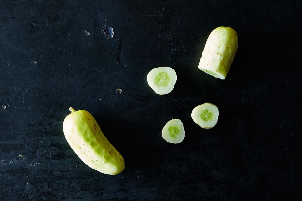 White Pickling Cucumbers