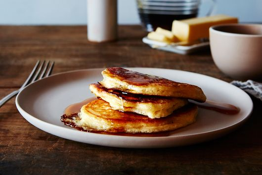 The Kitchn's Lofty Buttermilk Pancakes