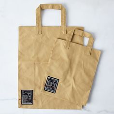 Bake House Canvas Market Bags