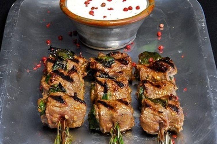 Herbed Beef Skewers with Horseradish Cream Recipe on Food52