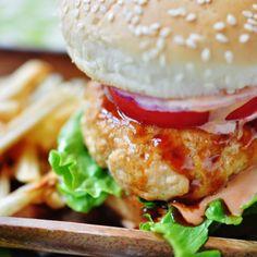Healthy Teriyaki Burger