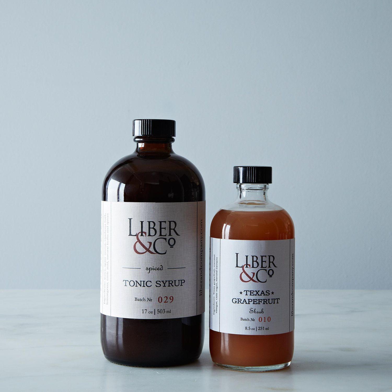Liber & Co Spiced Tonic & Texas Grapefruit Shrub on Food52
