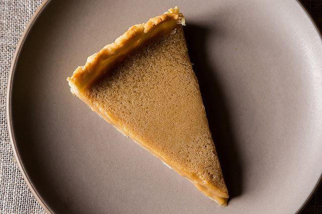 Maple Cream Tart minus a slice