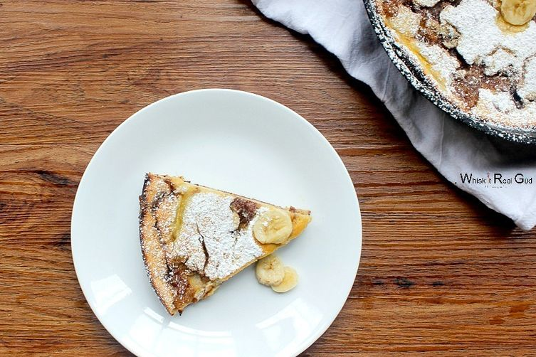 Banana Dutch Baby