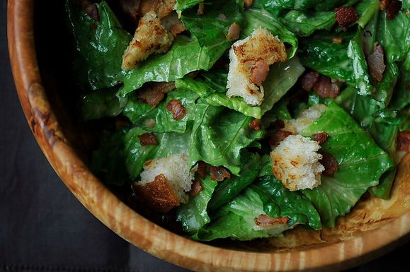 Caesar with Pancetta