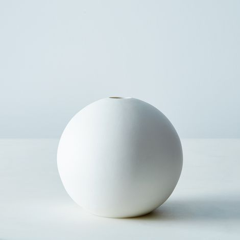 Spherical Ceramic Bud Vase