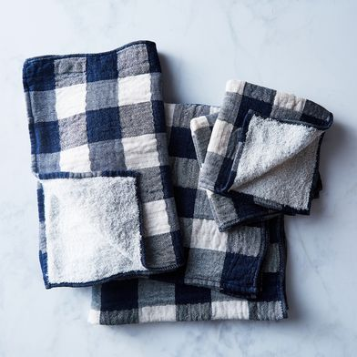 Buffalo Check Japanese Bath Towels