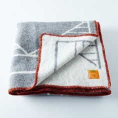 Wool Blend Alpine Throw
