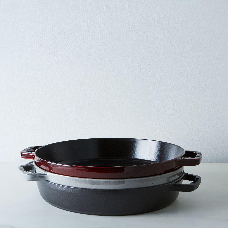 Staub Cast Iron Double Handle Fry Pan 13