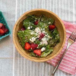 Strawberry Lime Vinaigrette Salad