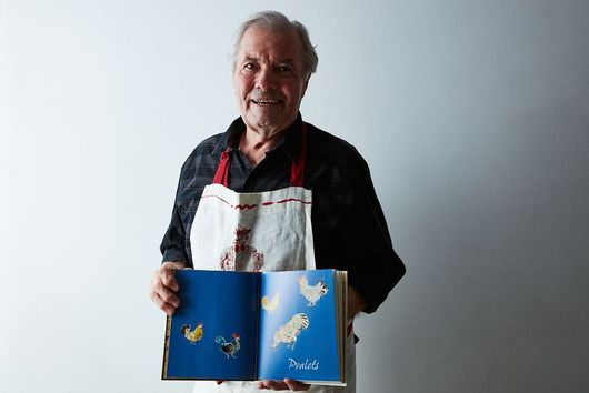 Jacques Pépin Has Over 300 Knives (& More We Learned When He Visited)