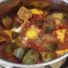 Easy Zucchini Summer Stew