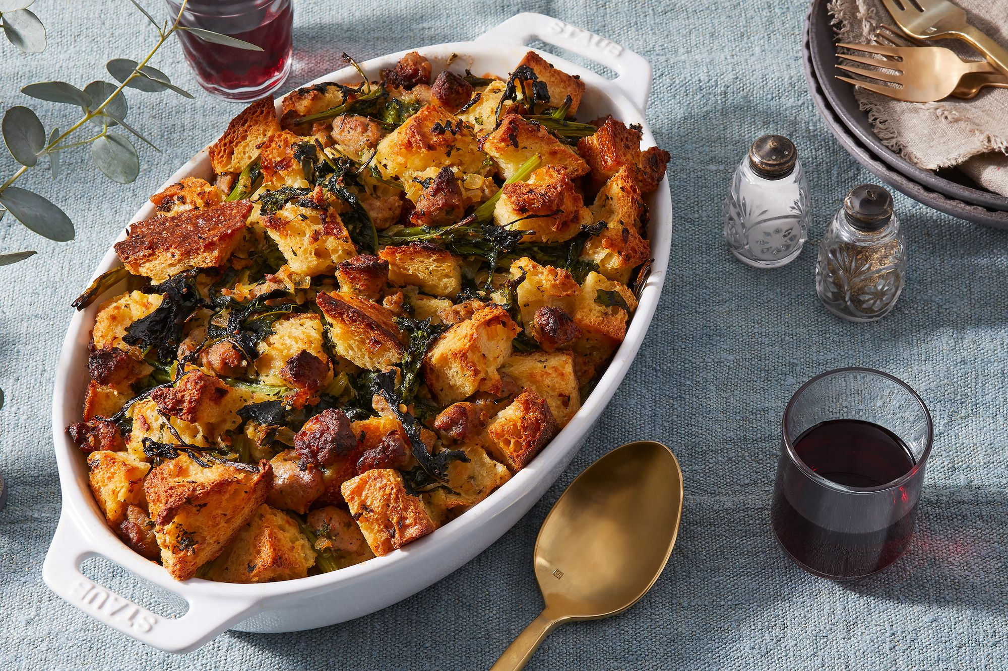 The Two-for-One Ingredient Your Sausage Stuffing Is Missing