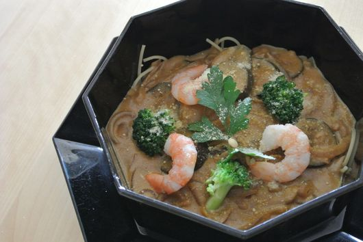 Creamy Curry Soup Pasta a la Japonaise