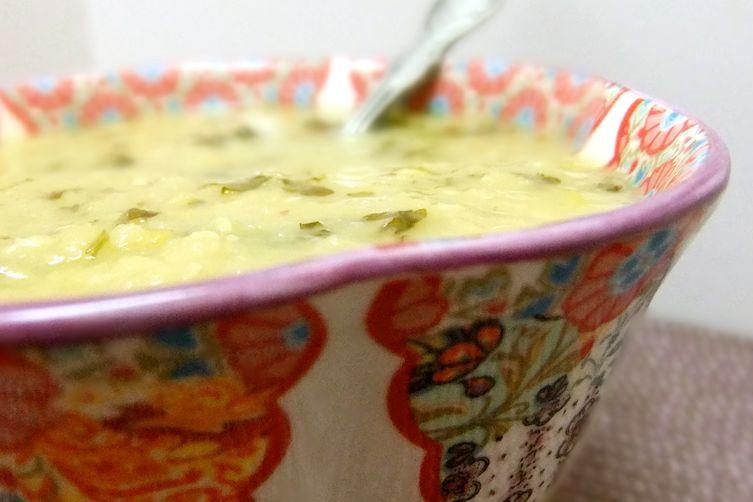 Red Lentil Soup With Cilantro?