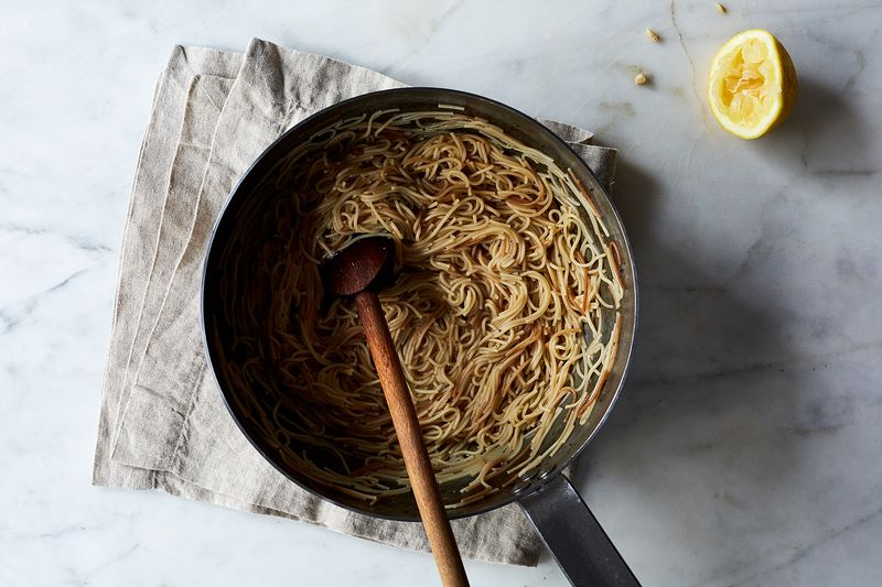 Sue Kreitzman's Lemon Butter Angel Hair Pasta