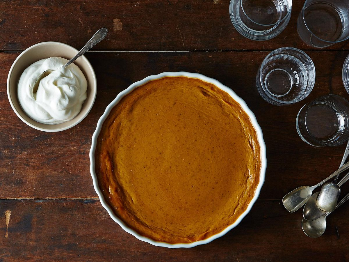 Best Crustless Pumpkin Pie Recipe How To Make Pumpkin Pudding