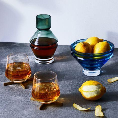 Danish Modernist Glass Vessel