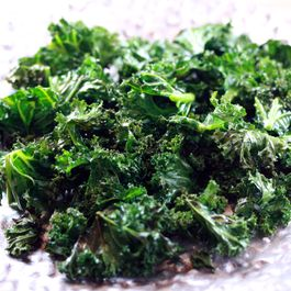 Spicy Crispy Kale with Lime