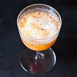 Honeyed Peach Melba Bellinis