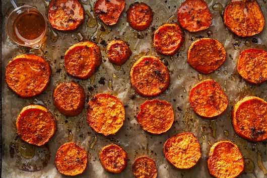 Citrus Salt Meets Sweet Potatoes for a Stellar, Savory Side