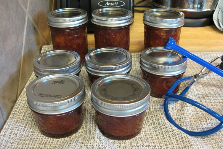 Spiced Plum and Port Jam