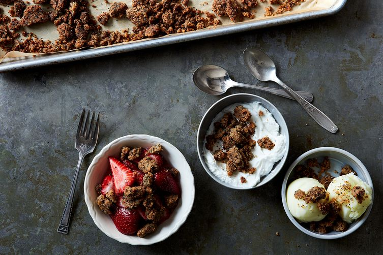 Base Recipe for Any Kind of Sweet Streusel