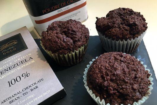Orange Chocolate Cashew Butter Muffins (LC)