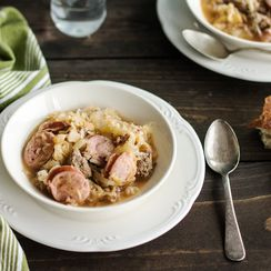 Hearty Sauerkraut Soup