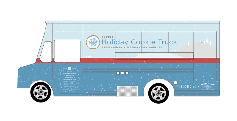 Our Holiday Cookie Truck Hits the Streets