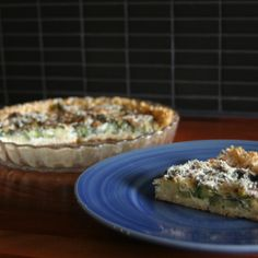 Brown Rice Broccoli Tart