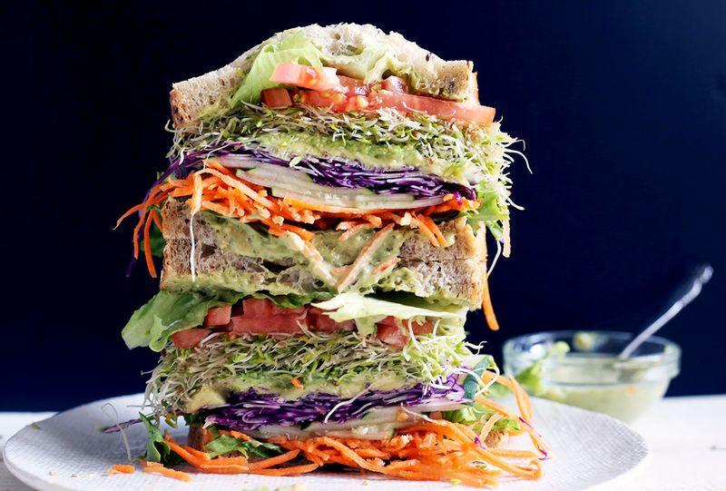 Summer Veggie Sandwich