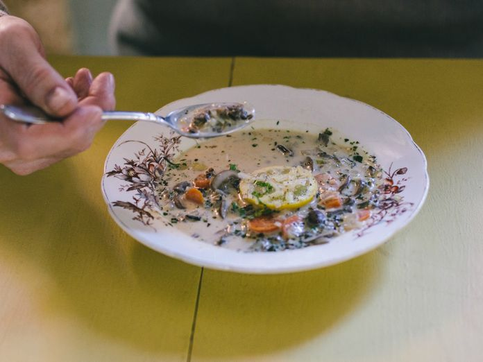 The Secrets to Great Soup: Joni Mitchell & Cream Cheese