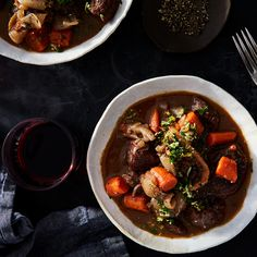 A Rich, Fall-to-Pieces Beef Stew to Simmer (and Savor) Slowly