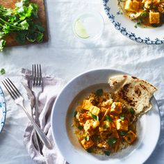 Paneer and Cauliflower Makhani
