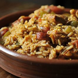 Thankful For Leftover Turkey Jambalaya