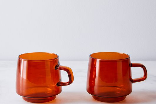 Sepia Amber Glasses (Set of 2)