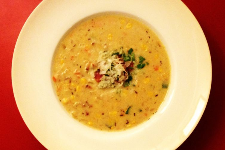 Potato, Corn, and Bacon Chowder