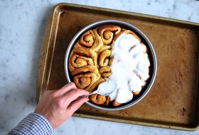 Out of Control Salted Caramel Cinnamon Rolls
