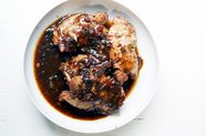 A Honey-Garlic Chicken to Mix-Pour-Bake in 20 Minutes