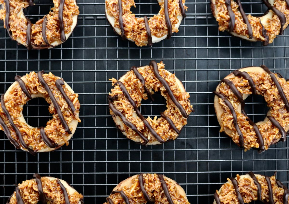 How to Make Samoa Girl Scout Cookies