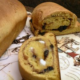 Butternut - Apple Butter Bread with a Cinnamon Raisin Swirl